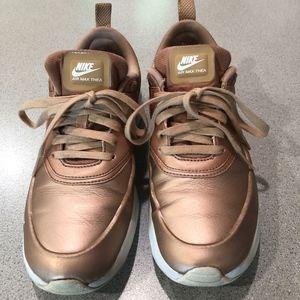 Nike Air Max Thea - Rose Gold Metallic - Size 7